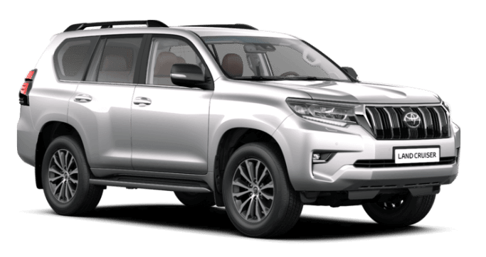 rent a Toyota Land Cruiser in Iceland