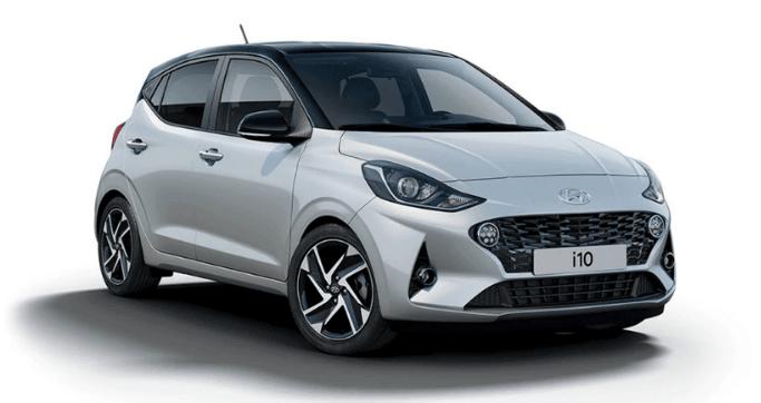 rent Hyundai i10 at low price