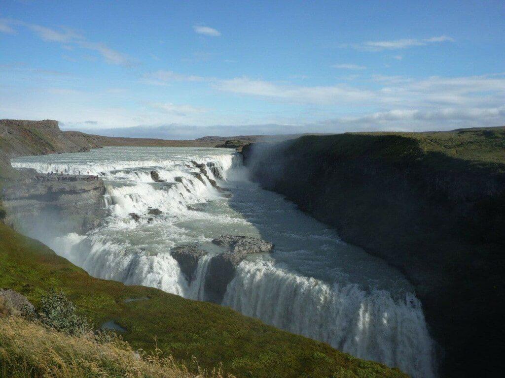 Golden Circle Gullfoss Waterfall Iceland