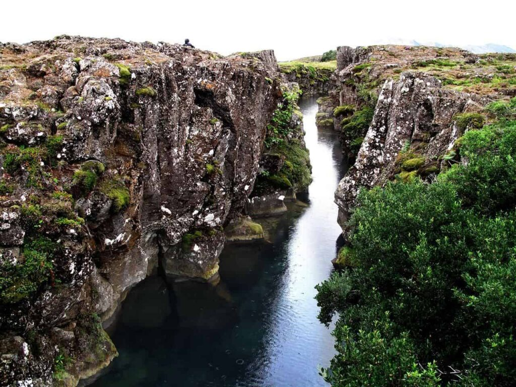 Scuba dive between North American and Eurasian plates